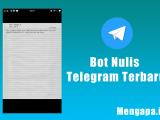 Bot Nulis Telegram Terbaru